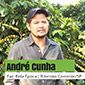 Foto do André Cunha, Fazenda Bela Época para depoimento sobre Tritucap